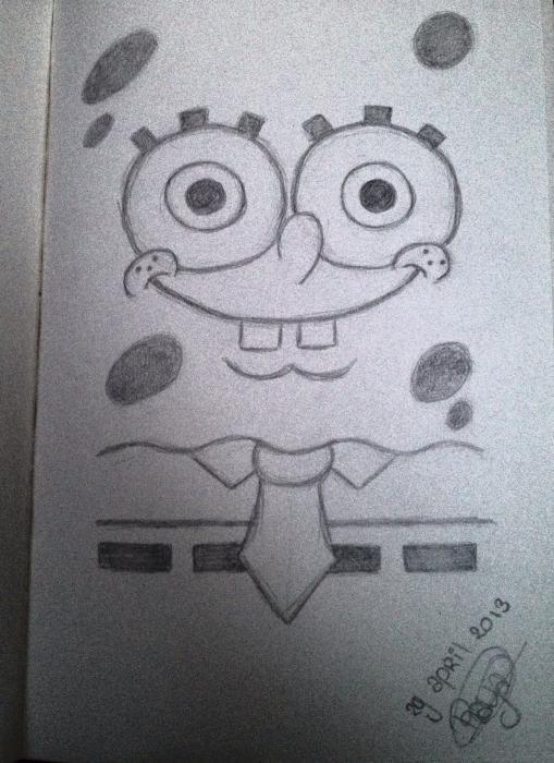 SpongeBob por SorayaLobbezoo